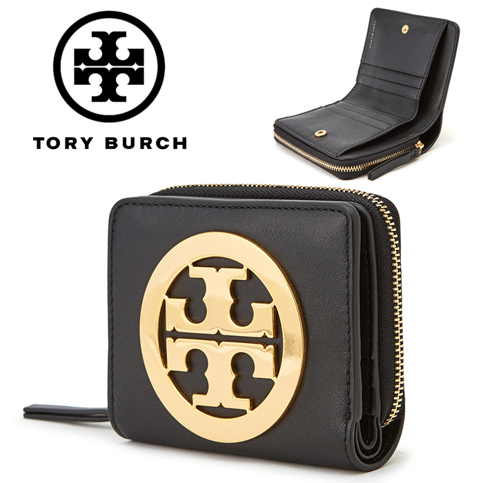 ★Tory Burch★CHARLIE Mini 折りたたみ財布_41015 001
