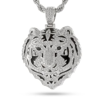 SALE★King Ice★The Bengal Necklace (White Gold)