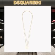 【18SS NEW】D SQUARED2_men/Double Cross ネックレスGOLD