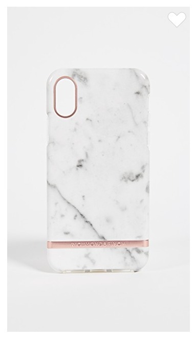 Richmond & Finch☆White Marble iPhoneXケース
