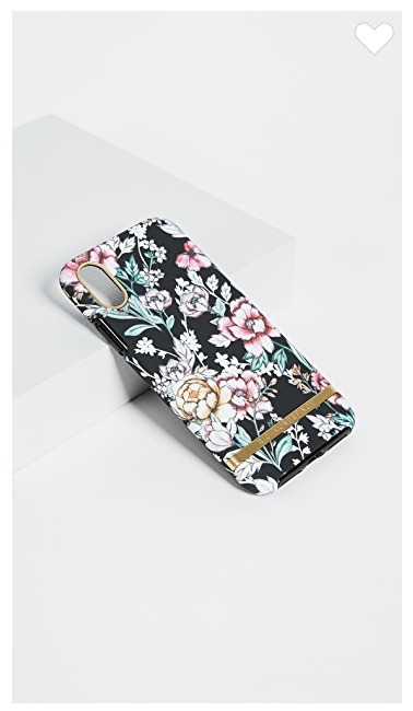 richmond&finch☆Black Floral iPhoneXケース
