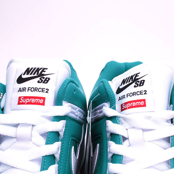 US9.5■Supreme × Nike SB Air Force 2 スニーカー■27.5cm K17