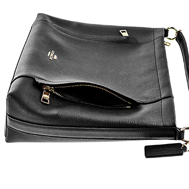 即発!COACH◆スカウト ホーボー◆2Way Shoulder Bag◆Black