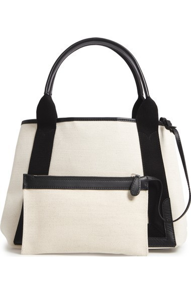 送料・関税込 Balenciaga Small Cabas Canvas Tote バッグ