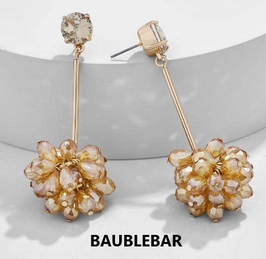 関税送料込 BaubleBar Noel Drop Earrings ピアス♪