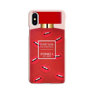 IPHORIA★iPhone X ケース★Perfume Red Lips
