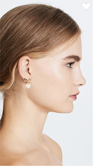 【kate spade】Skinny Mini Drop Earrings ピアス 送料関税込み