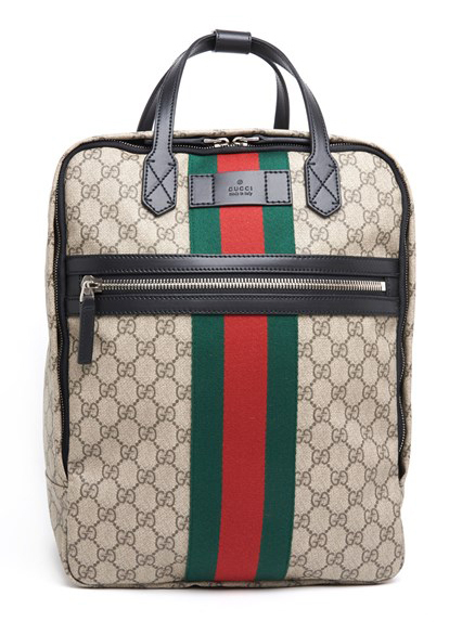 18AW/送料込≪GUCCI≫ GG Supreme プリント バックパック