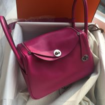 Hermes エルメス Lindy 26 リンディ Rose Pourpre / Evercolor
