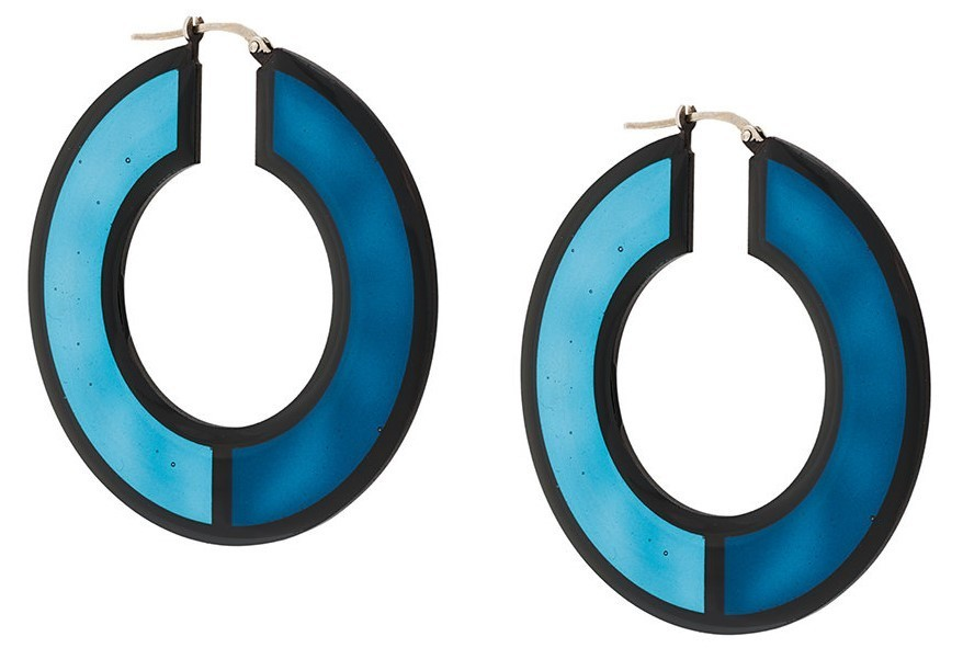【17AW】大人気!!★CELINE★two-toned hoop earrings