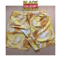 SALE★★Supreme ABSTRACT WATER SHORT/YELLOW L or XLサイズ