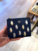 TORY BURCH★PENGUIN MINI WALLET 折り財布 44594*可愛い!
