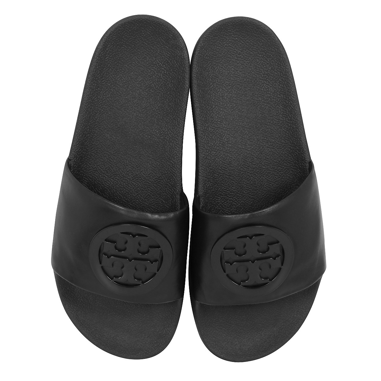 ★Tory Burch★ Black Leather Lina Slide サンダル 関税込