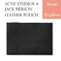 ACNE Jack Pierson Leather Pouch ジャックピアソンコラボポーチ