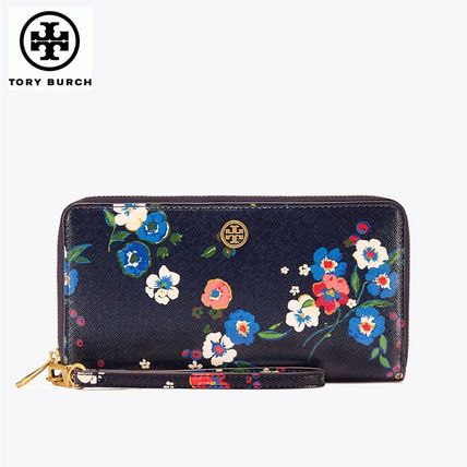 ☆Tory Burch☆PARKER PRINTED ZIP CONTINENTAL WALLET