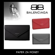 ☆BALENCIAGA PAPER ZA MONEY 2つ折り 長財布☆