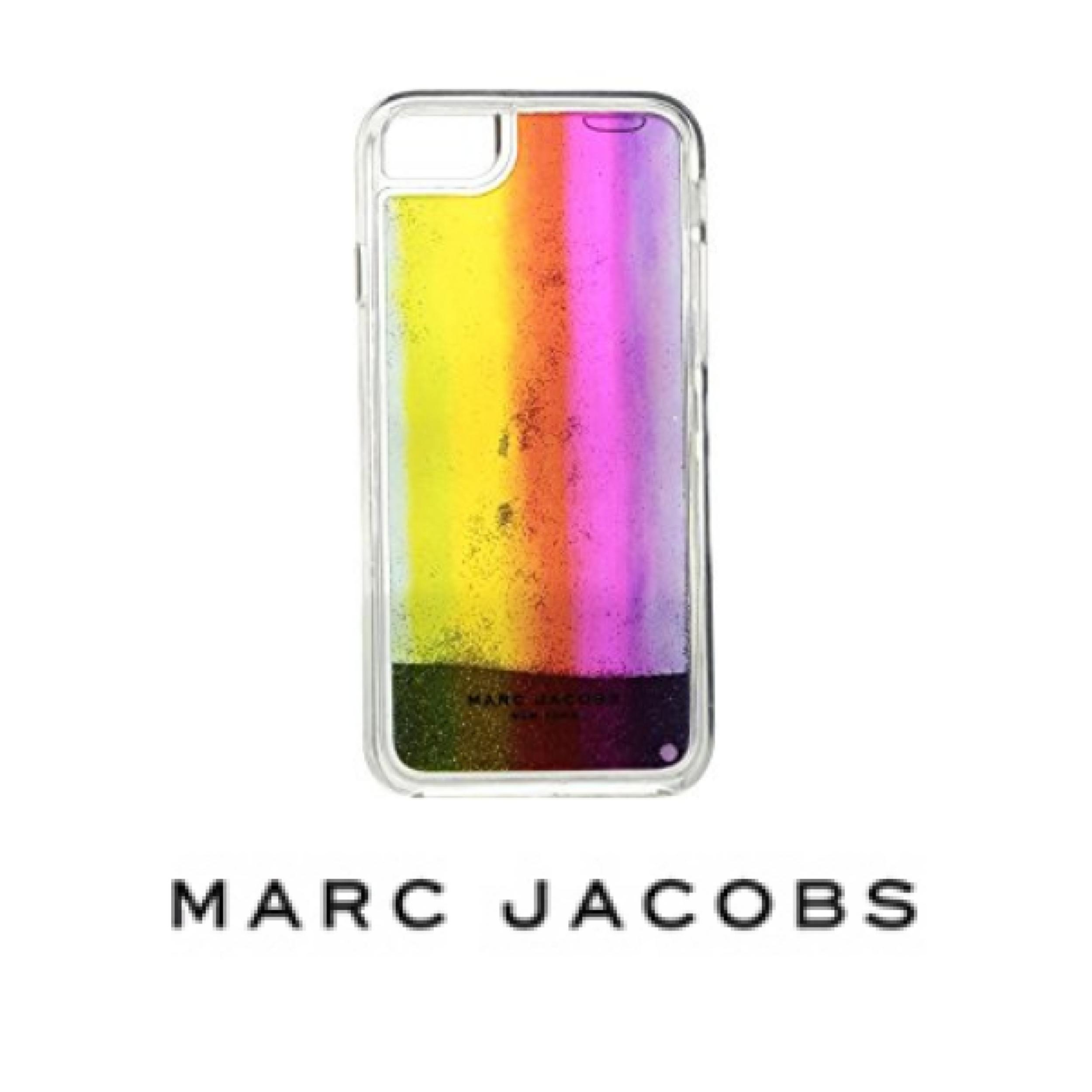Marc Jacobs Glitter Rainbow iphone 7 Case