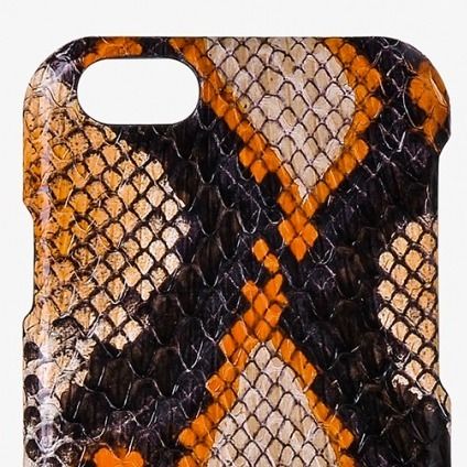 国内発送☆THE CASE FACTORY☆iPhone 7/8 SNAKE CORAL / EBONY
