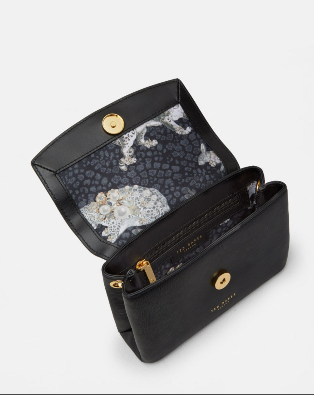 ◇Ted Baker◇色限定セールLeorr Bow Leather Crossbody Bag