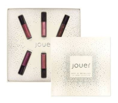 Jouer☆Best of Metallics Mini Long-Wear Lip Creme Collection