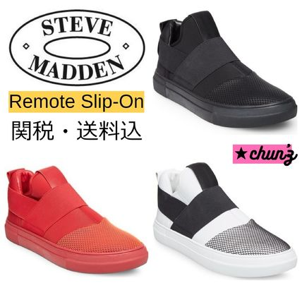Steve Madden スニーカー 関送込 Steve Madden Remote Slip-On (Men) スニーカー