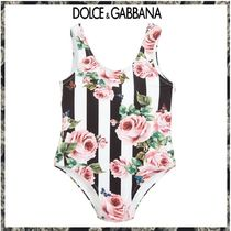 Baby!! Dolce & Gabbana★Rose Striped スイムスーツ★6-24M