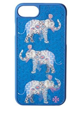 Tory Burch Hologram Elephant Hard-Shell Case For iPhone 7