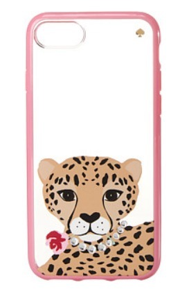 Kate Spade New York Jeweled Cheetah iPhone7/iPhone8 case