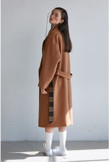 日本未入荷SCULPTORのGOWN WOOL COAT 全2色