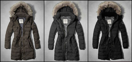 Abercrombie & Fitch コート 在庫わずか!MEG SHERPA LINED PARKA