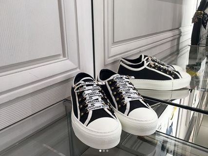 Dior スニーカー 2018 DIOR 最新作★Walk'N'Dior Low Top Sneaker 各色(2)