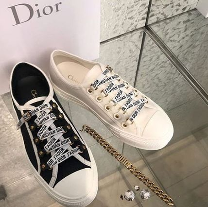 Dior スニーカー 2018 DIOR 最新作★Walk'N'Dior Low Top Sneaker 各色(5)