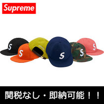 即納 国内発送 Supreme WOOL S LOGO 6-PANEL