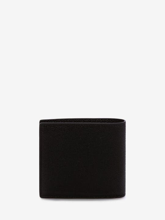 *Alexander McQueen*Coat of Arms Leather Billfold Wallet