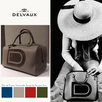 [本店取寄せ] デルボー(DELVAUX)*Louise Boston* logo patent