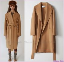 【17aw NEW】 Acne_women/Carice double camel/ロングコート