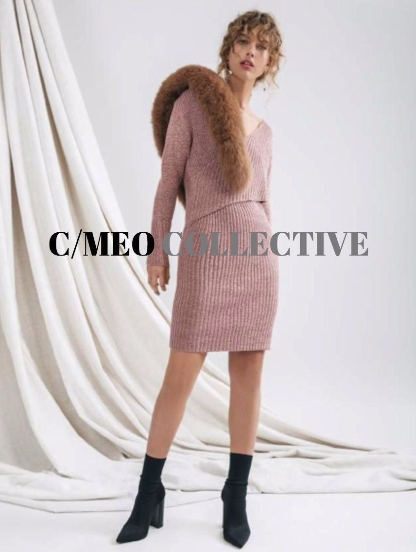 FEATURE KNIT DRESS
