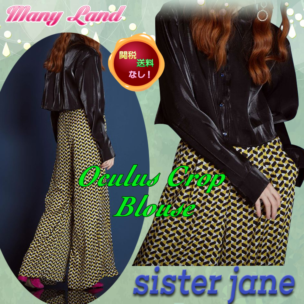 関税送料込★sister jane★Oculus Crop Blouse★
