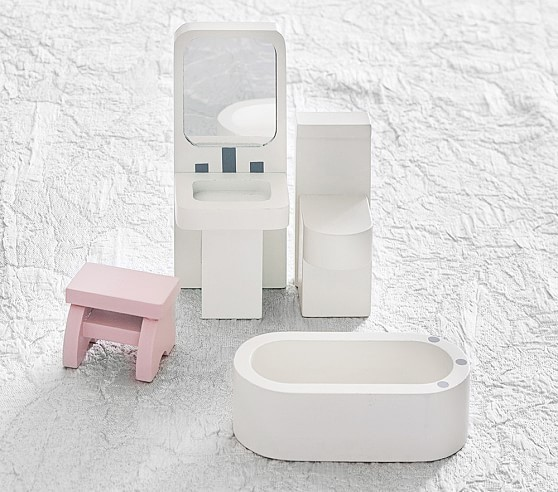 【送関込】☆PotteryBarn☆ ♡Farmington Bathroom Set