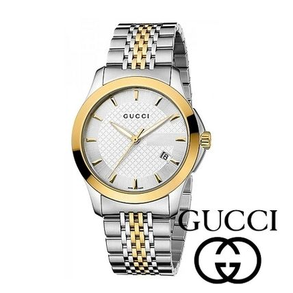 Bi-Colour ☆GUCCI☆ G-Timeless 38mm メンズウォッチ♪