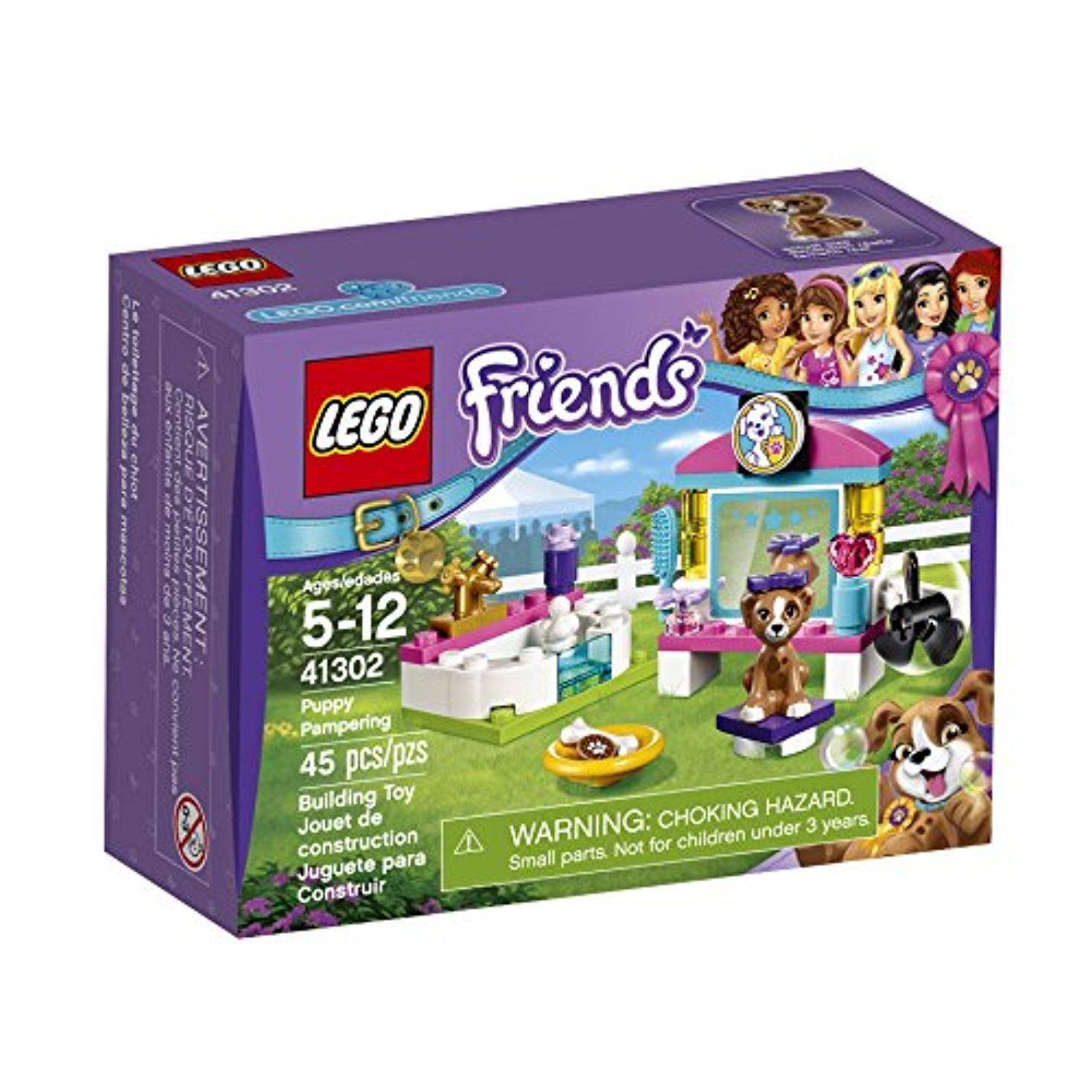 LEGO Friends Puppy Pampering 41302 Building Kit
