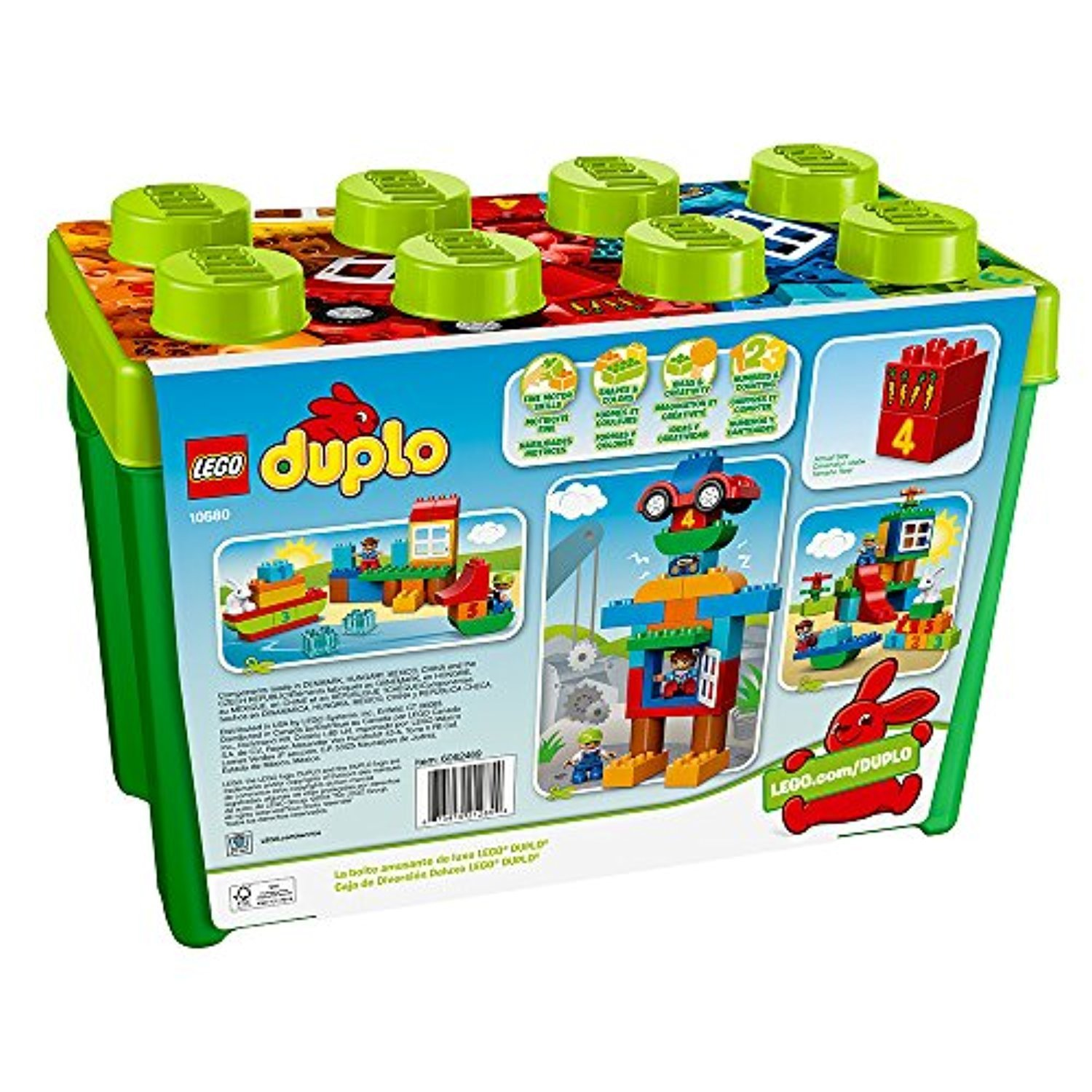 LEGO DUPLO Deluxe Box of fun 10580 Preschool Creative Play