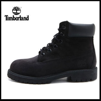 (ティンバーランド) 6 IN PREMIUM BOOT BLACK NUBUCK 12907