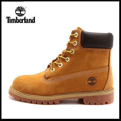 "(ティンバーランド) 6"" PREMIUM WF BOOT WHEAT NUBUCK 12909"