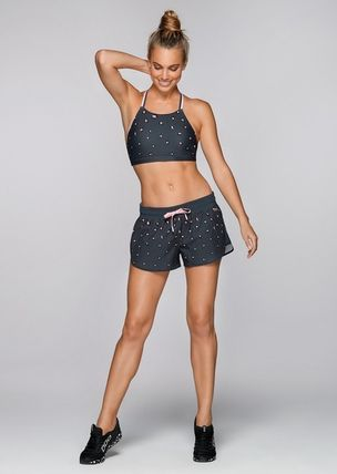 Lorna Jane フィットネストップス ★追跡有【Lorna Jane】Pretty Leopard Sports Bra★(6)