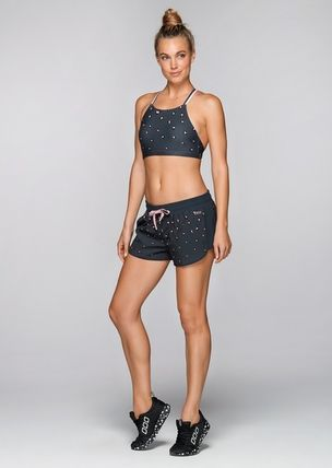 Lorna Jane フィットネストップス ★追跡有【Lorna Jane】Pretty Leopard Sports Bra★(7)