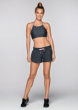 Lorna Jane フィットネストップス ★追跡有【Lorna Jane】Pretty Leopard Sports Bra★(9)