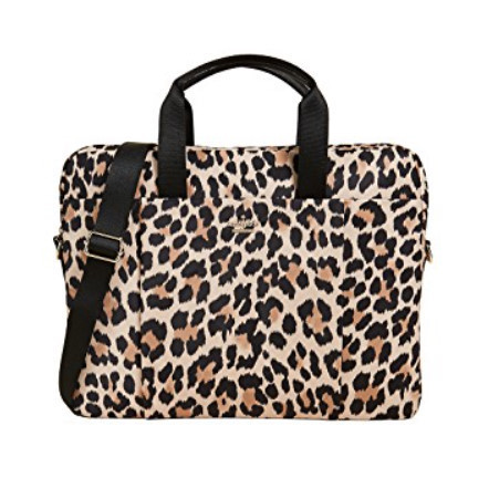 ★Kate Spade New York★ヒョウ柄 Laptop コンピューターバッグ