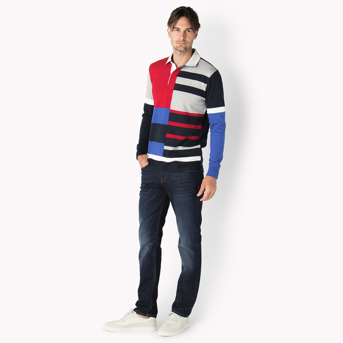 ☆Men's Tommy Hilfiger☆ラグビーシャツ