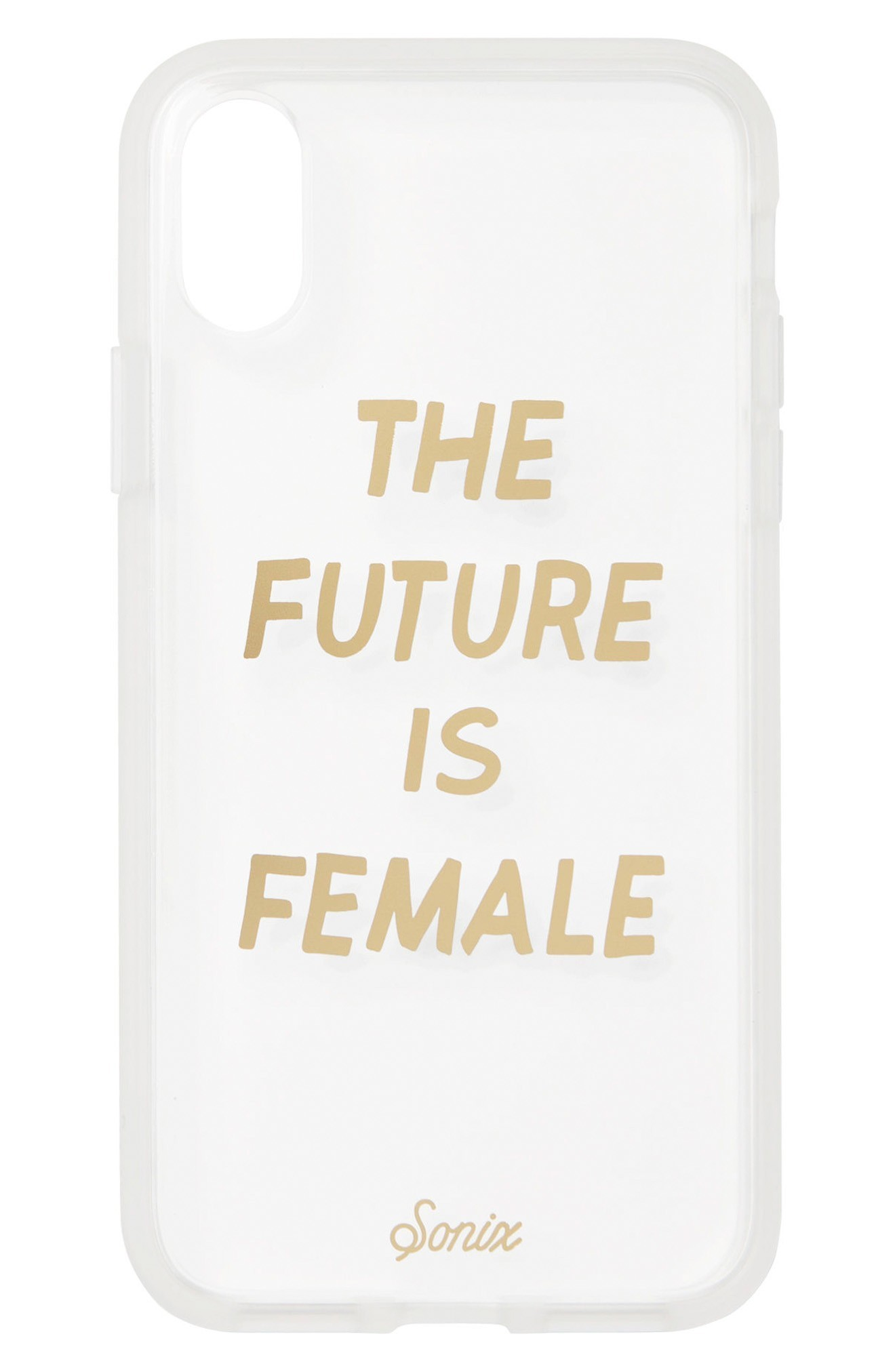 送料・関税込♪Sonix The Future Is Female iPhone  iphonケース